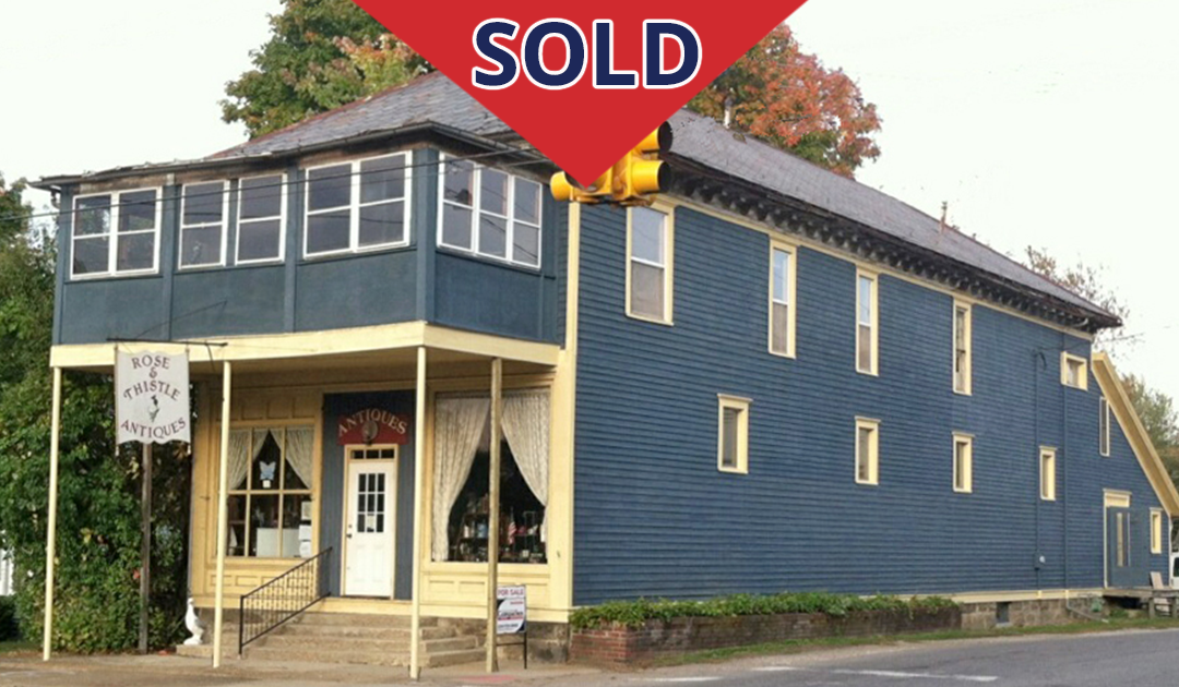 Retail Building with Large Apartment SOLD!