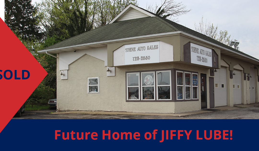 Former Towne Auto Sales has sold to Jiffy Lube