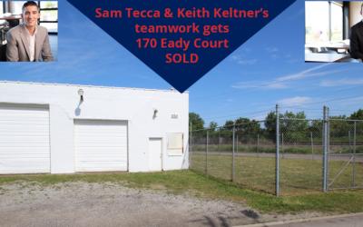 Teamwork – Sam Tecca & Keith Keltner – 170 Eady Court in Elyria SOLD
